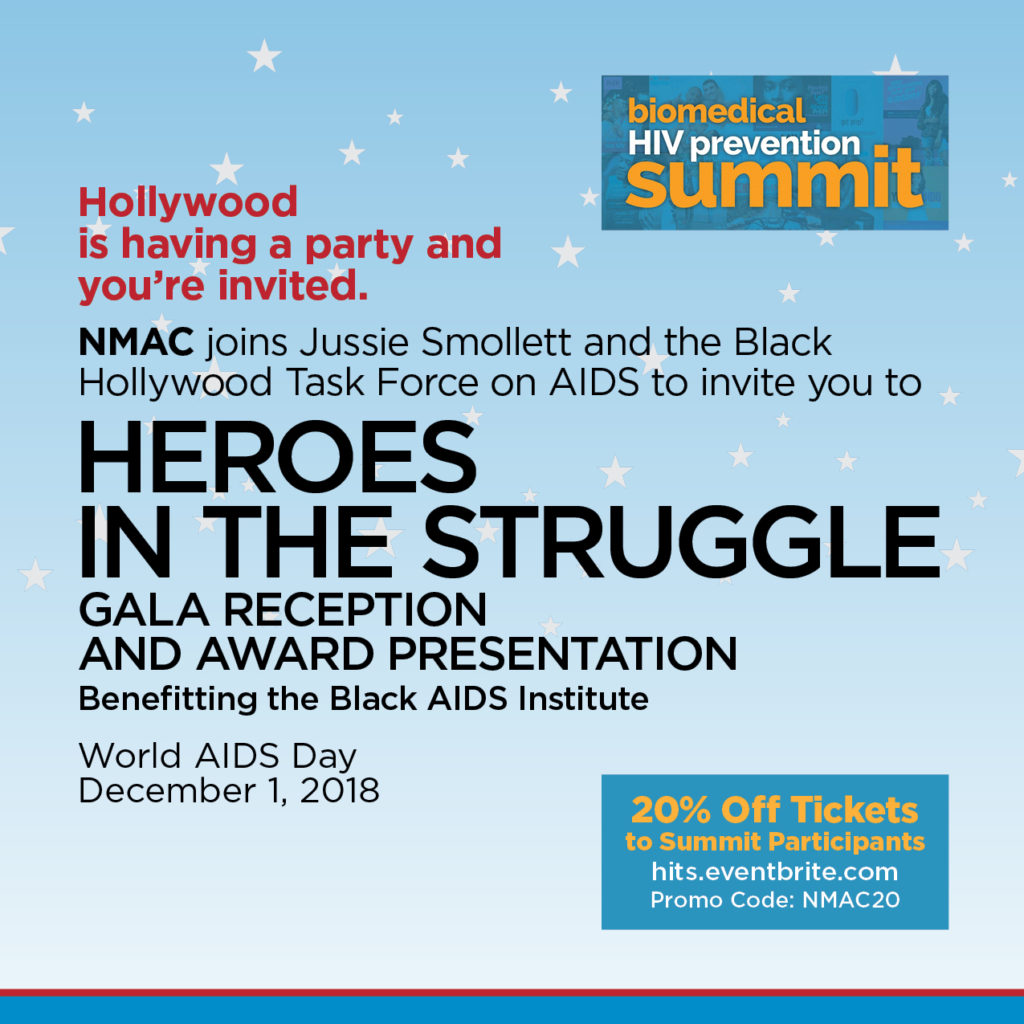 Heroes in the Struggle GALA Reception and Award Presentation - December 1, 2018